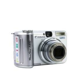 Canon PowerShot A610 Reviews