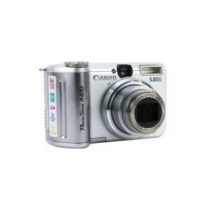 Photo of Canon PowerShot A610 Digital Camera