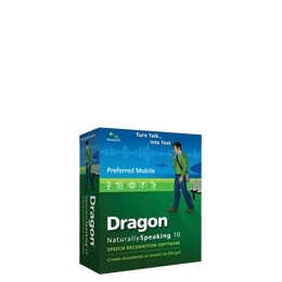 Dragon NaturallySpeaking Preferred Mobile  w/Recorder - ( v. 10 ) - w/ noise-cancelling headset microphone - complete package - 1 user - DVD - Win - English Reviews