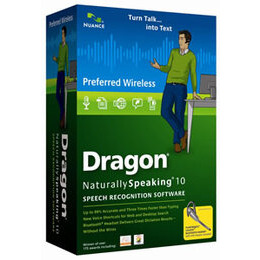 Dragon NaturallySpeaking Preferred Wireless 10.0