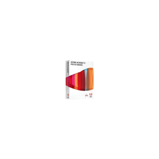 Adobe Acrobat Pro Extended 9 Product Upgrade (Windows)