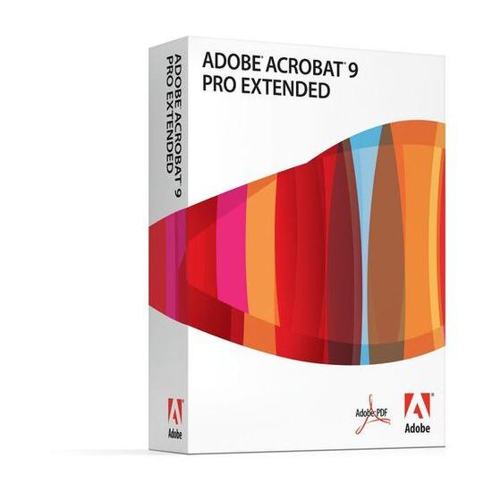 Adobe Acrobat Pro v9 (upgrade from v6,7,8)