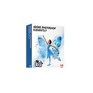 Photo of Adobe Photoshop Elements - ( V. 7 ) - Complete Package - 1 User - EDU - CD - Win - International English Software