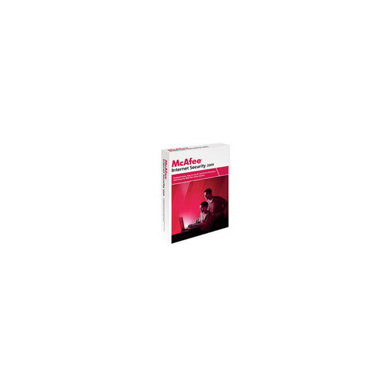 McAfee Internet Security 2009 - Licence and media - 1 user - OEM - CD - Win - English