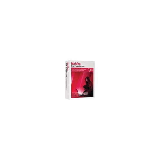 McAfee Total Protection 2009 - Complete package - 3 users