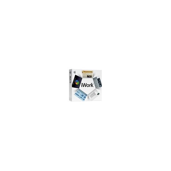 IWork '08 - ( v. 8.0.2 ) - complete package - 1 user - CD - Mac