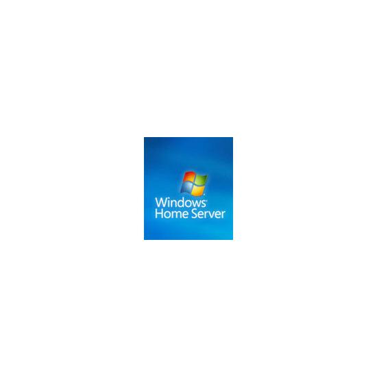 Microsoft Windows Home Server w/Power Pack 1 - Licence and media - 1 server, 10 CALs - OEM - CD/DVD - 32-bit - English