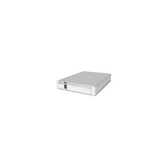 Cremax ICY Dock MB559UEB-1S - Storage enclosure - SATA-300 - FireWire 800 / Hi-Speed USB - pearl white