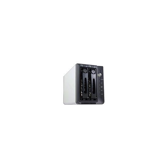 Hypertec Firestorm V2 NAS - NAS - 1 TB - Serial ATA-300 - HD 500 GB x 2 - RAID 0, 1, JBOD, 0+1, SAFE33, SAFE50 - Hi-Speed USB / Gigabit Ethernet / eSATA-300