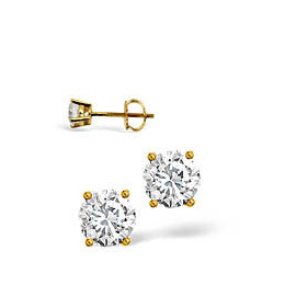 H/I Colour Stud Earrings 0.40CT Diamond 18KY Reviews