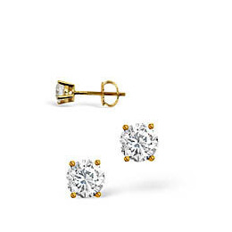 H/I Colour Stud Earrings 0.20CT Diamond 18KY Reviews