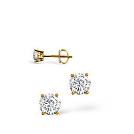H/I Colour Stud Earrings 0.20CT Diamond 18KY Reviews