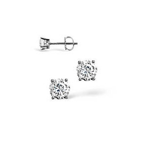 Photo of g-H/Si Stud Earrings 0.20CT Diamond 18KW Jewellery Woman