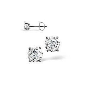 Photo of H/I Colour Stud Earrings 0.40CT Diamond 18KW Jewellery Woman
