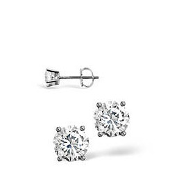 F-G/Vs Stud Earrings 0.40CT Diamond 18KW Reviews