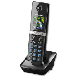 Panasonic KX-TG8063EB Cordless Phone with Answering Machine - Triple handsets
