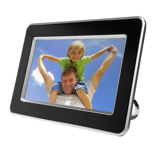 this stylish logik black digital photo frame allows you the option of selecting one single image or playing see full description
