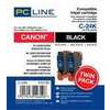 Photo of PC LINE C24KX2 24BKX2 Ink Cartridge