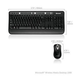 Photo of Microsoft Wireless Media Desktop 1000 Keyboard