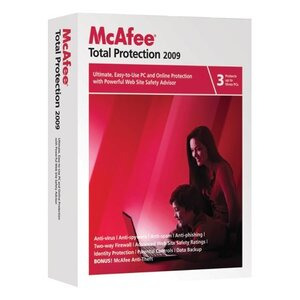Photo of McAfee Total Protection 2009 3 User Version Software