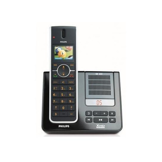 Philips SE655 Cordless Phone with Answermachine