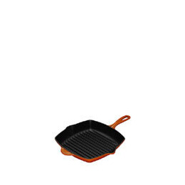 Le Creuset Cast Iron 26cm Square Grillit - Volcanic Reviews