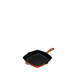 Le Creuset Cast Iron 26cm Square Grillit - Volcanic Reviews
