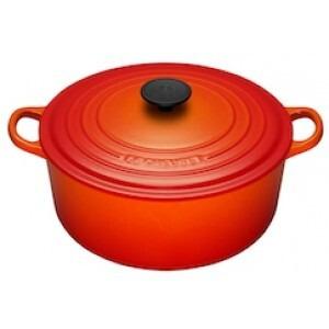 Photo of Le Creuset Round Casserole Dish - 26CM - Volcanic Cookware