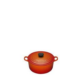 Le Creuset Round Casserole Dish - 22cm - Volcanic Reviews