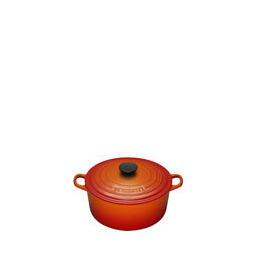 Le Creuset Round Casserole Dish - 20cm - Volcanic Reviews