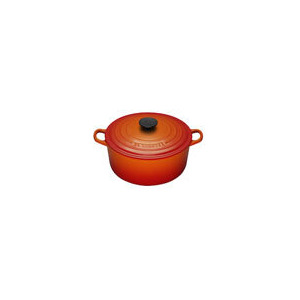 Photo of Le Creuset Round Casserole Dish - 20CM - Volcanic Cookware