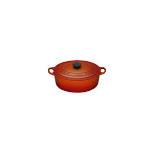 Photo of Le Creuset Oval Casserole Dish 27CM - Volcanic Cookware