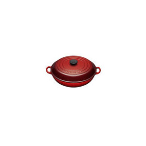 Photo of Le Creuset Shallow Casserole Dish 30CM - Cerise Cookware