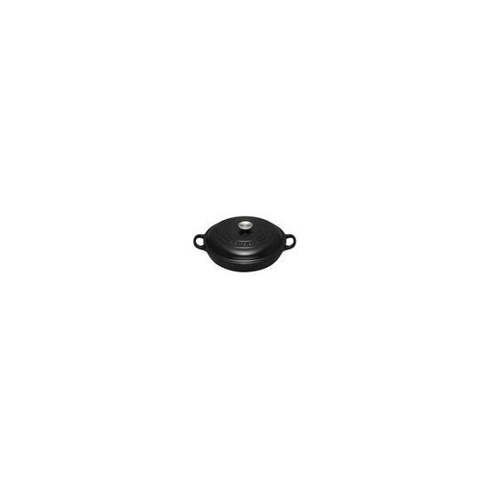 Le Creuset Shallow Casserole Dish 30cm - Satin Black