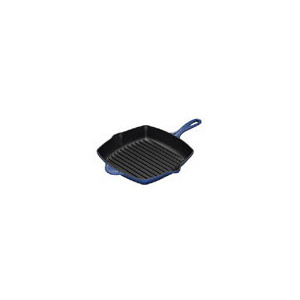 Photo of Le Creuset Cast Iron 26CM Square Grillit - Graded Blue Cookware