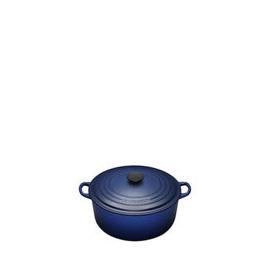 Le Creuset Round Casserole Dish - 16cm - Graded Blue Reviews