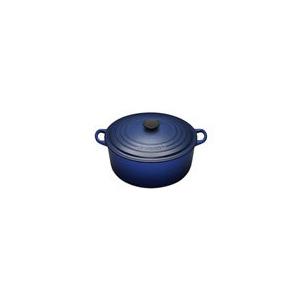 Photo of Le Creuset Round Casserole Dish - 16CM - Graded Blue Cookware