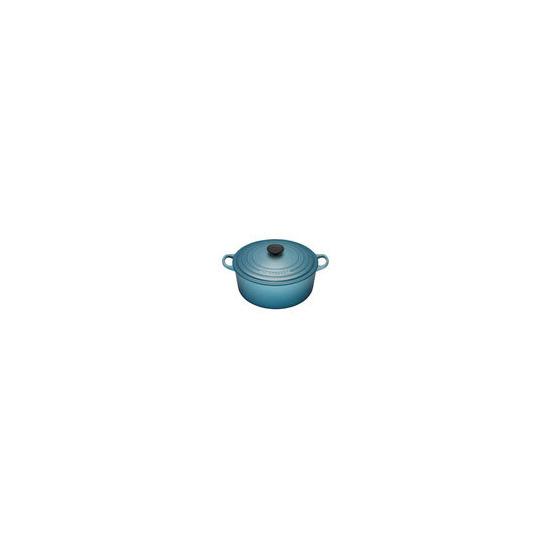 Le Creuset Round Casserole Dish - 18cm - Teal