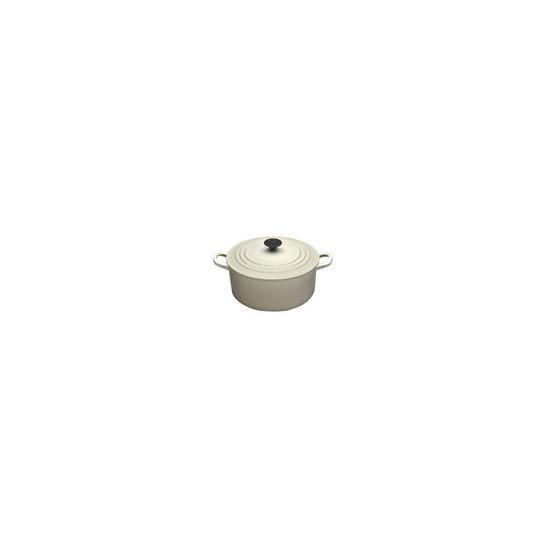 Le Creuset Round Casserole Dish - 20cm - Almond