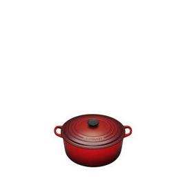 Le Creuset Round Casserole Dish - 26cm - Cerise Reviews