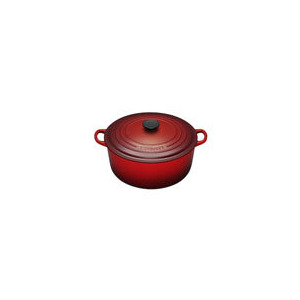 Photo of Le Creuset Round Casserole Dish - 26CM - Cerise Cookware