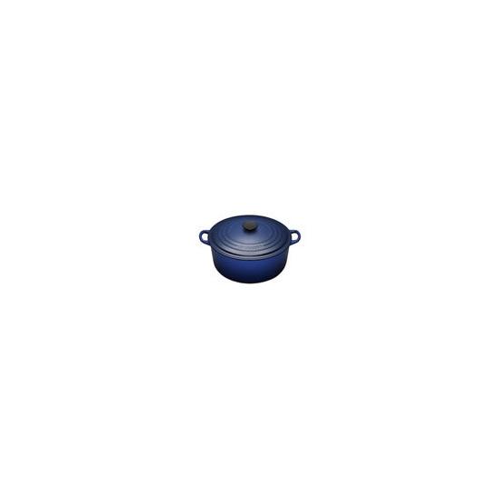 Le Creuset Round Casserole Dish - 28cm - Graded Blue