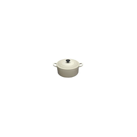 Le Creuset Round Casserole Dish - 28cm - Almond