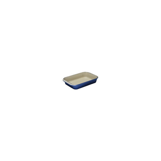Le Creuset Cast Iron 30cm Rectangular Dish - Graded Blue