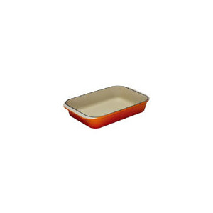 Photo of Le Creuset Cast Iron 40CM Rectangular Dish - Volcanic Cookware