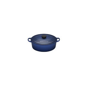 Photo of Le Creuset Oval Casserole Dish 25CM - Graded Blue Cookware