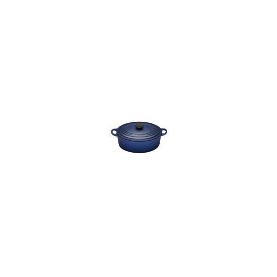 Le Creuset Oval Casserole Dish 25cm - Graded Blue