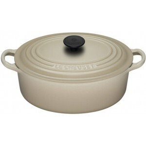 Photo of Le Creuset Oval Casserole Dish 25CM - Almond Cookware