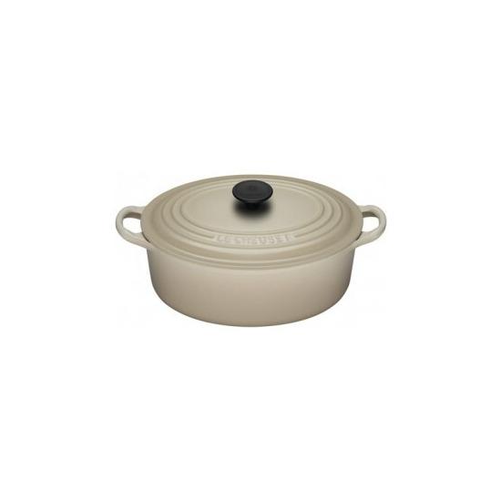 Le Creuset Oval Casserole Dish 25cm - Almond