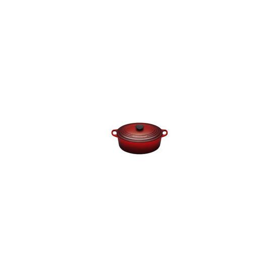 Le Creuset Oval Casserole Dish 29cm - Cerise
